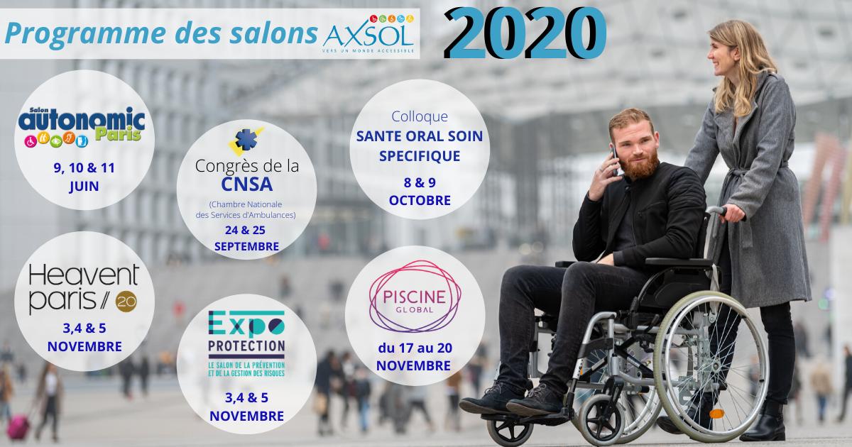 Salons Axsol Spécialiste en produits d'accessibilité