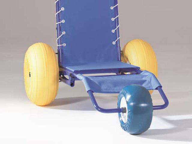 3 ème roue pour fauteuil accès au bain JOB classic