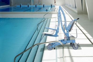 Elévateurs de piscine mobiles sur batteries Élévateur ÉcoPool