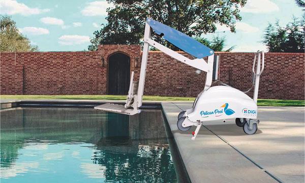 Pelican Pool mise à l'eau pmr