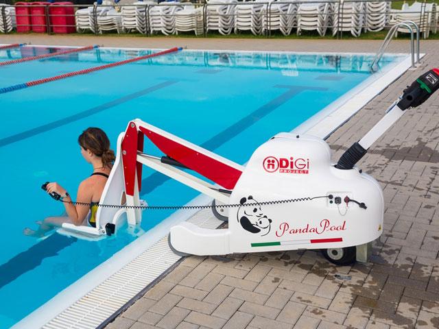 Élévateur de piscine mobile PandaPool