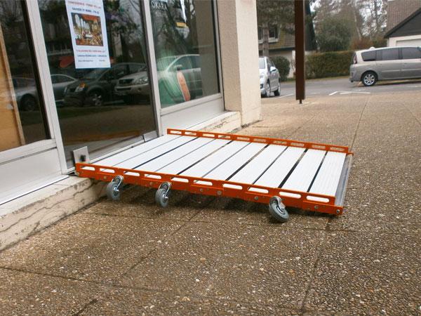 Rampe d'accès Roll Up