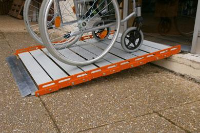 Rampes aluminium Roll-Up