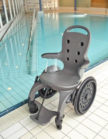 fauteuil roulant de piscine easyroller