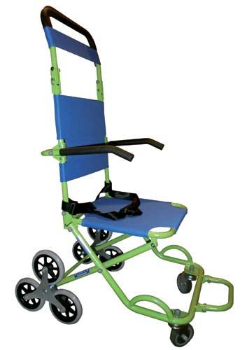 Chaise d'évacuation 3 roues Evacusafe