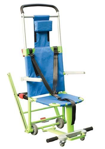 Chaise d'évacuation Excel pour pmr ou personne fragile en cas d'évacuation