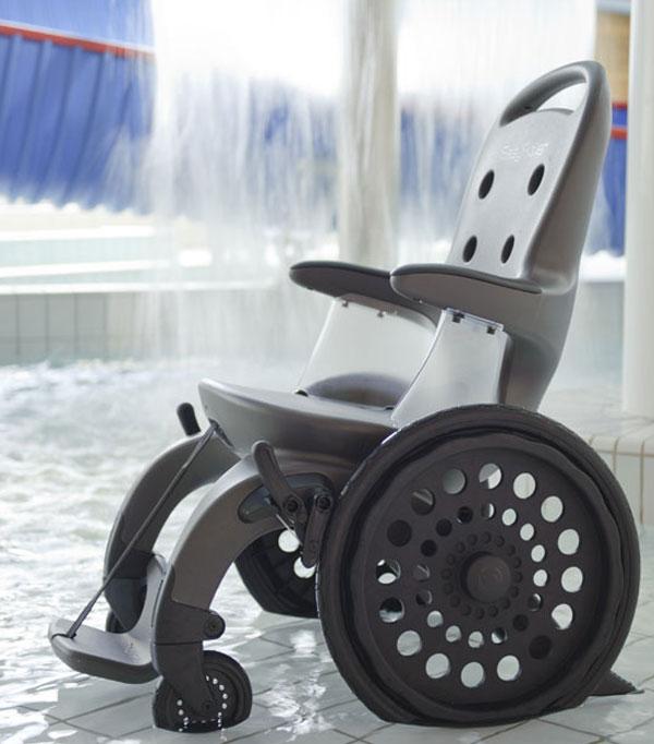 EasyRoller fauteil amangnetique PMR et handicapé
