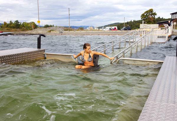 fauteuil easyroller piscine