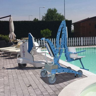 Élévateur EcoPool élévateur de mise à l'eau pour piscine