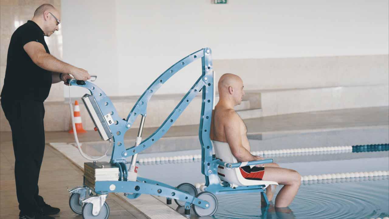 Élévateur mobile EcoPool pour piscine