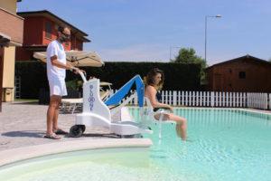 Élévateur mobile de piscine Bluone