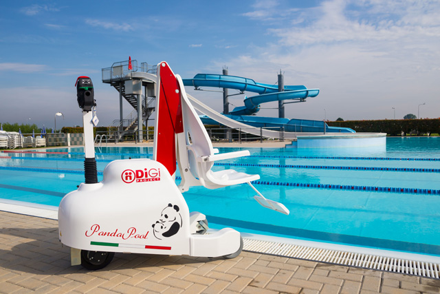 Elévateur de piscine pour handicapés et pmr Pandapool