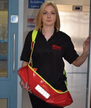 EvacSling évacuation pour nourrissons