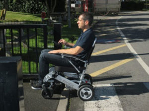 Fauteuil roulant électrique sorolla