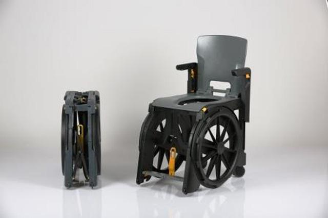Fauteuil d'aisance wheelable pour pmr et handicapés