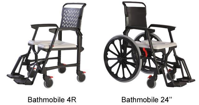 Fauteuil de douche Bathmobile pour pmr et personne handicapée