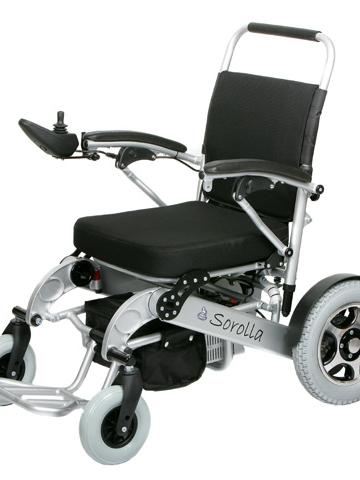 Fauteuil roulant électrique sorolla 315 pour pmr séniors et handicapés