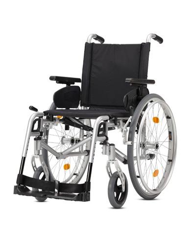 Fauteuil roulant manuel léger et pliable pour pmr et handicapés