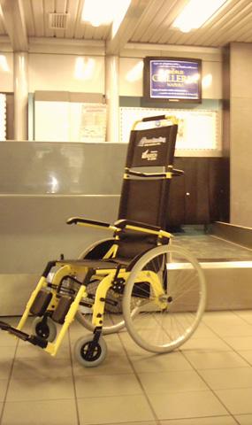 Transfert aéroport fauteuil roulant JET