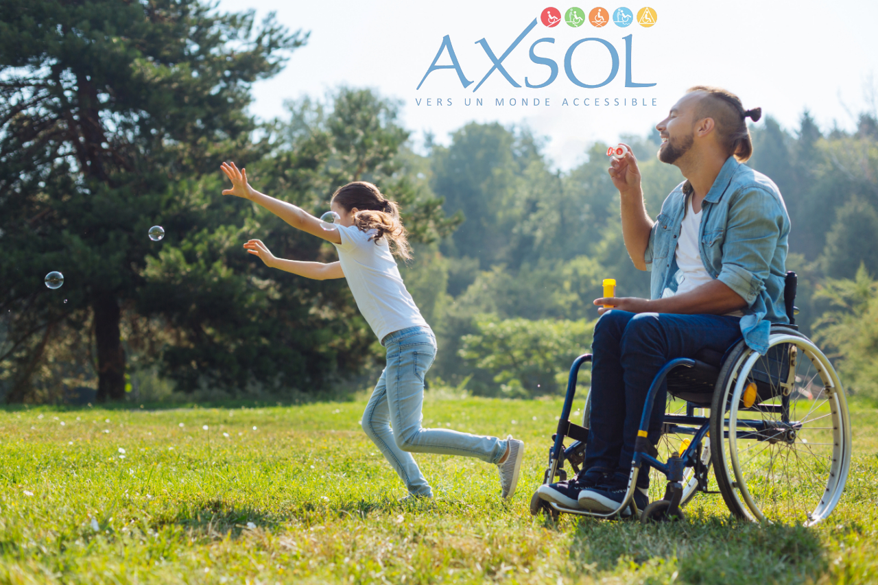 AXSOL spécialiste des matériels et solutions pour personnes à mobilité réduite et handicapés