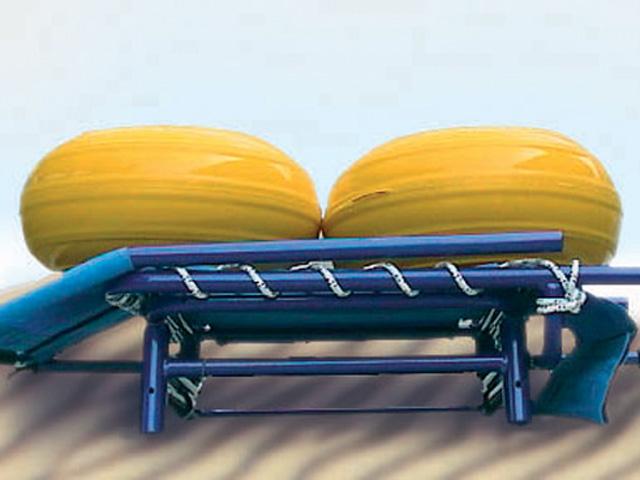 Rangement du fauteuil d'accès au bain JOB classic
