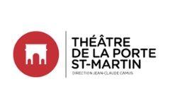Logo théâtre de la porte Saint Marin
