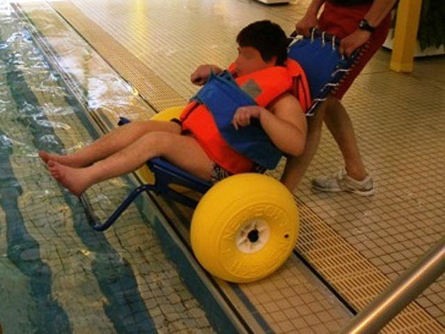 Fauteuil de mise en piscine JOB pro 2
