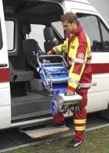 Monte escaliers liftkar pt 160 fold ambulancier
