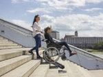 Monte escalier liftkar ptr pour fauteuil roulant