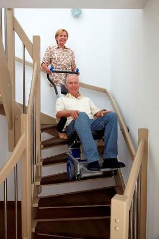 Monte escaliers lifkar pts 130 pour handicapés et pmr