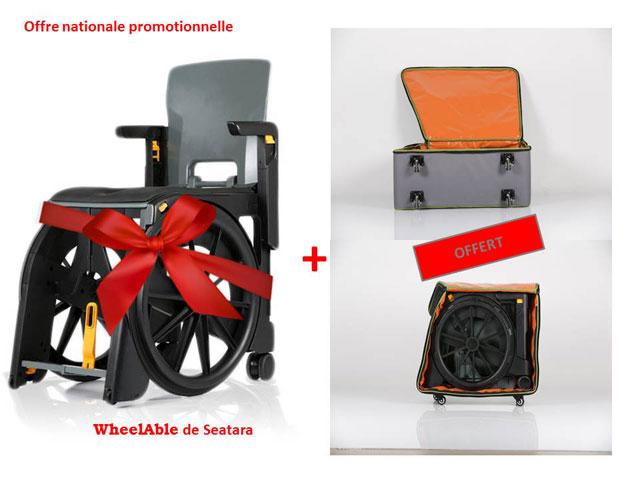 Offre promotionnelle sur le fauteuil d'aisance wheelable