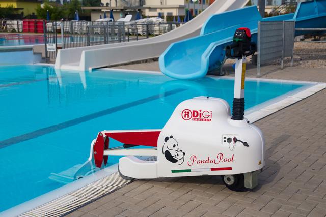 Pandapool l'élévateur mobile et autonome pour la mise à l'eau des pmr et handicapés