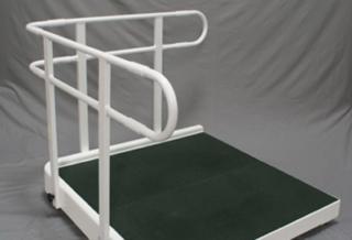 Plateforme d'accès handicapés pour les coins de batiment