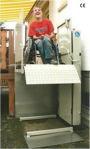 Plateforme élévatrice ORION pour accès handicapé et pmr