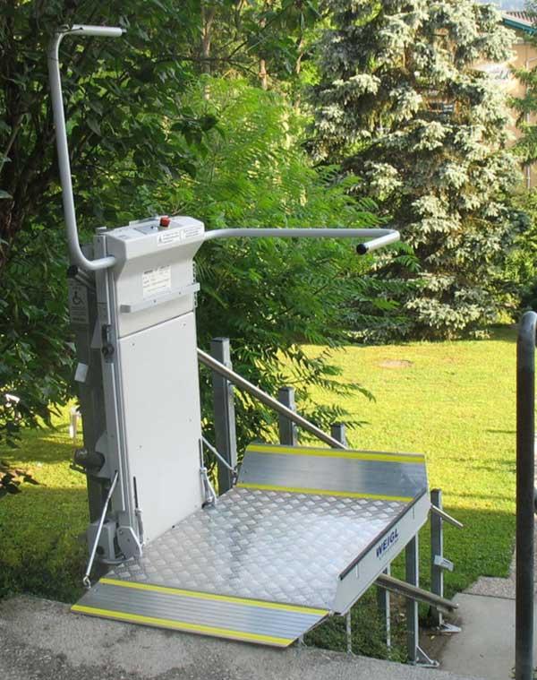 Plateforme monte escaliers Artemis - Plateforme électrique oblique pour fauteuil roulant