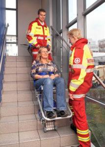 Monte escaliers pt 160 fold pour ambulancier
