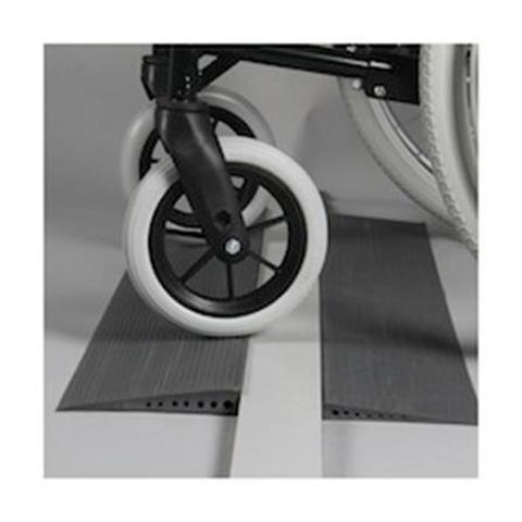 Mini-rampes en caoutchouc pour franchissement de petit seuil de porte
