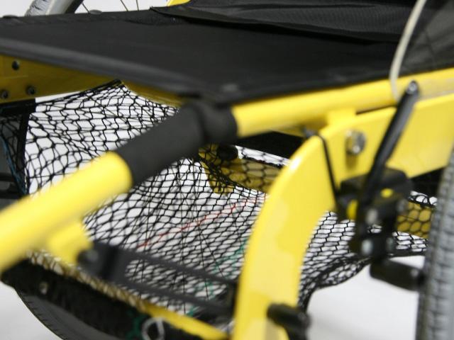 Rangements du fauteuil roulant JET