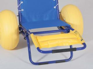 Repose pied gonflable pour fauteuil d'accès au bain JOB classic