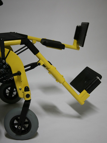 Reposes pieds fauteuil roulant JET