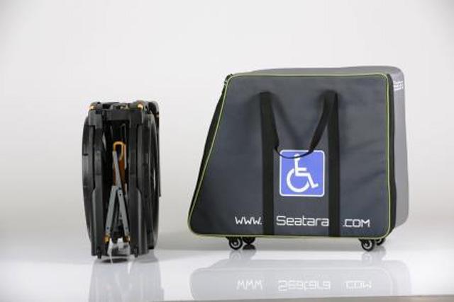 Sac de transport pour fauteuil wheelable