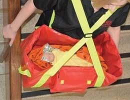 Saccoche bandoulière pour évacuation de nourisson ou bébé - EvacBCOT
